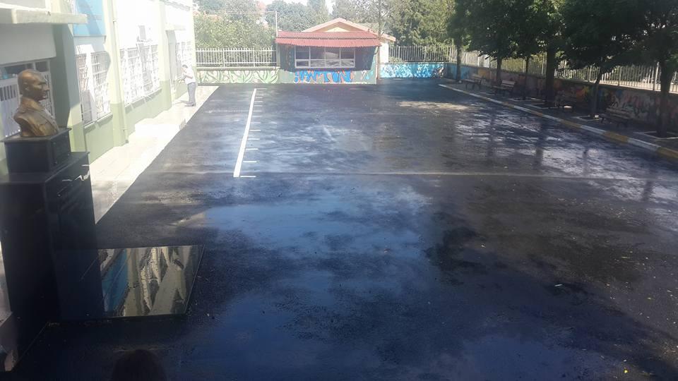 Avcılar Belediyesi Okul Bahçelerini Yıkadı (10)