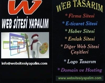 web sitesi yapalım